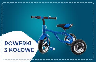Rowerki 3 kołowe